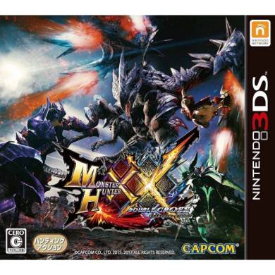 Buy Nintendo 3DS Used games   softs  Japanese import    nin nin game     Monster Hunter XX   Double Cross  3DS   Used