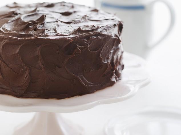 Gluten Free Chocolate Birthday Cake With Chocolate