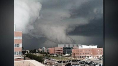 Denver Put Under Rare Tornado Warning as Severe Weather ...