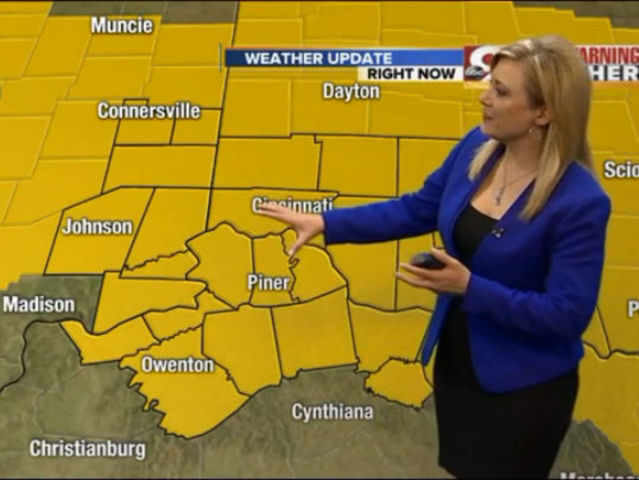 Ohio Precipitation Map 2014