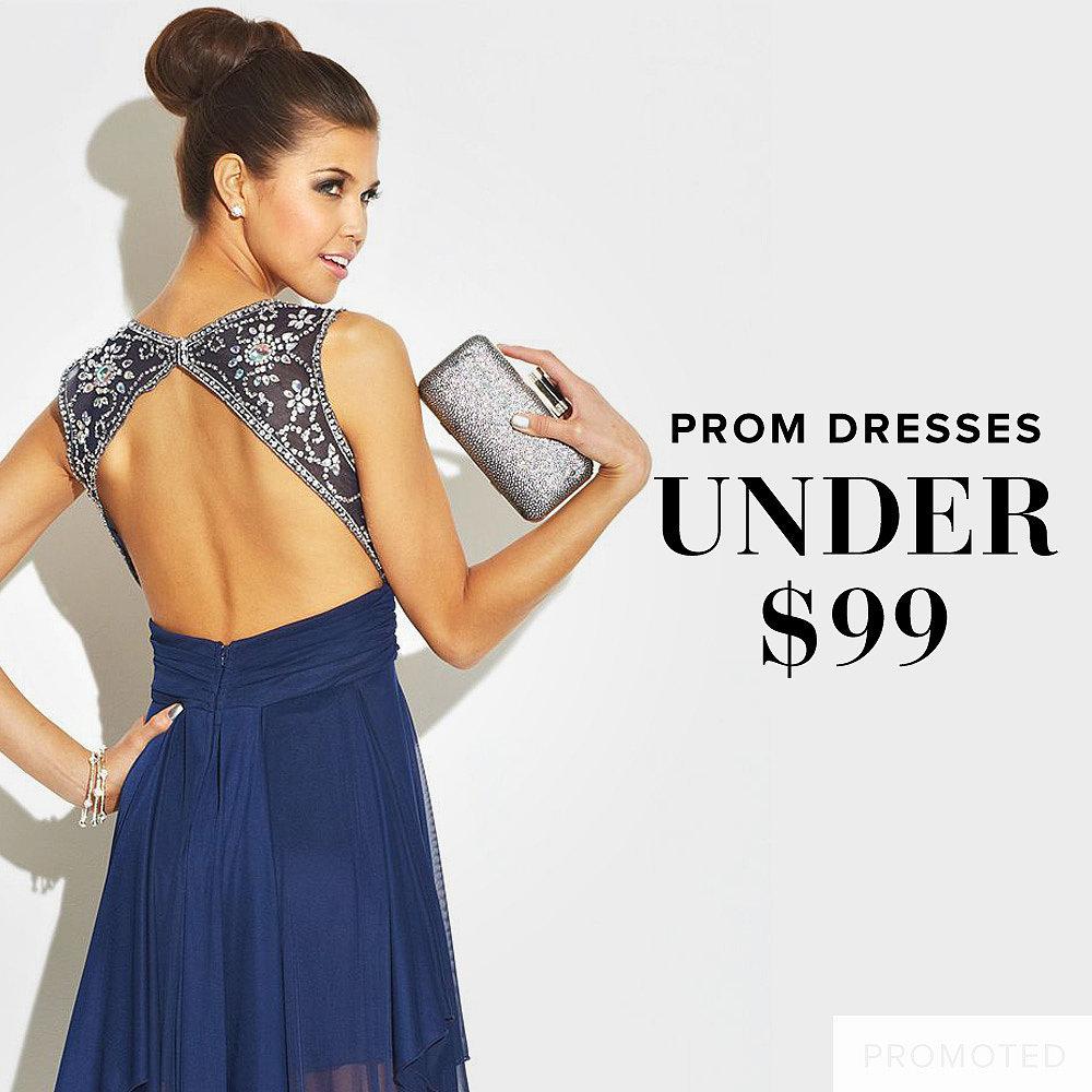 Macys Prom Dresses Under 100