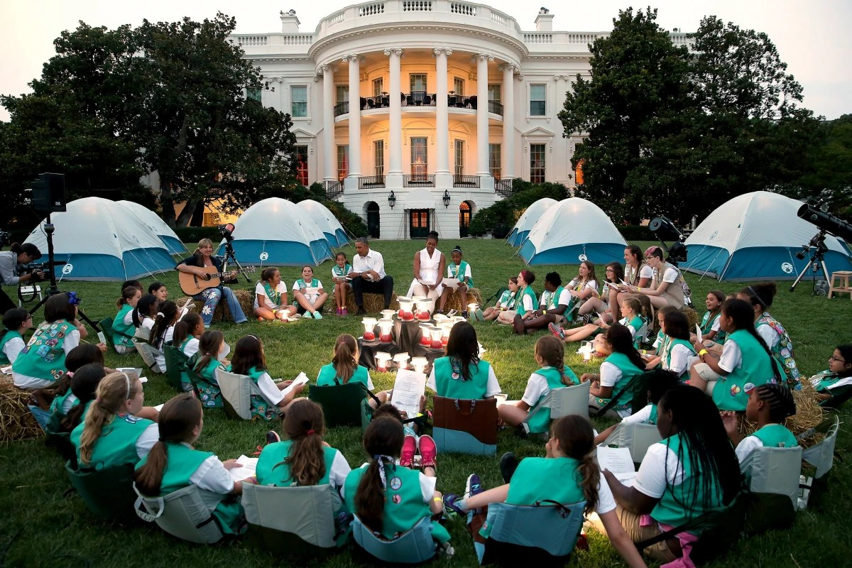 Girl Scouts Camping Ideas