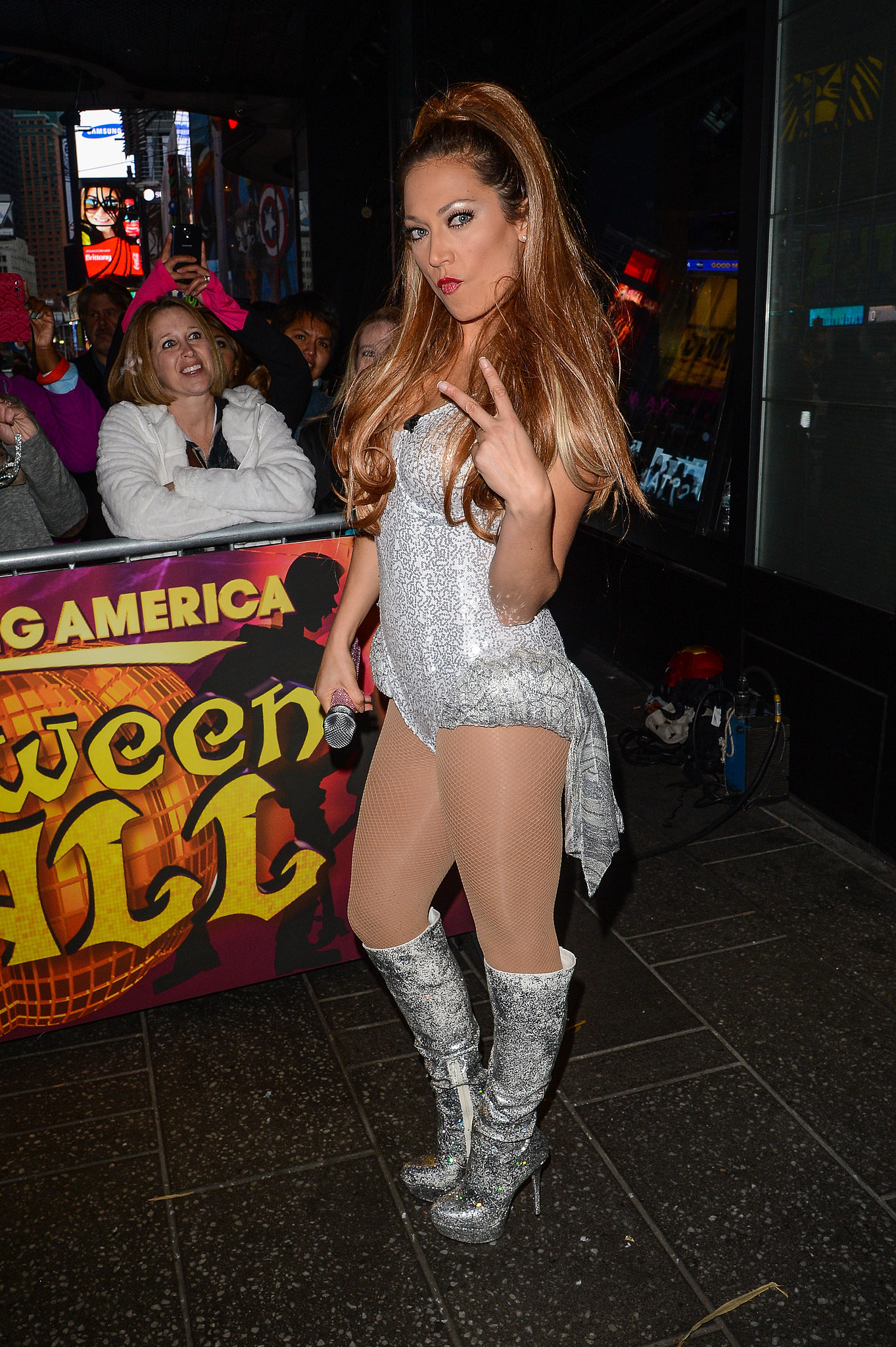 Beyonce Glitter Outfits