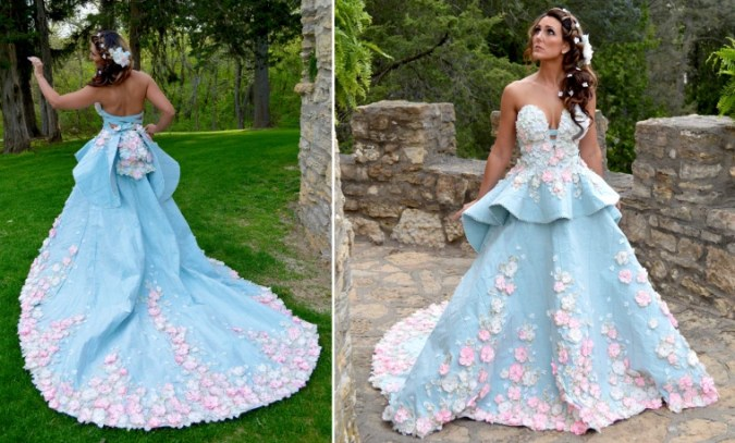 10 finalists of this year s toilet paper wedding dress contest Toilet paper wedding dresses