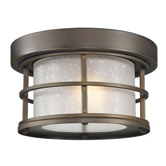 Seeded Glass Ceiling Fixture   Bellacor Z Lite Exterior Additions Oil Rubbed Bronze 10 Inch One Light Outdoor  Ceiling