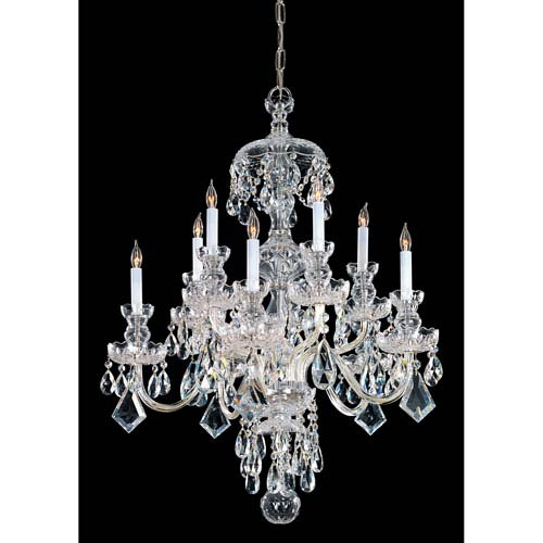 crystal chandelier traditional # 6