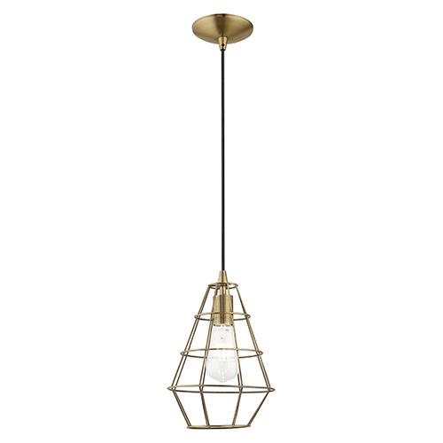 geometric mini pendant light # 17