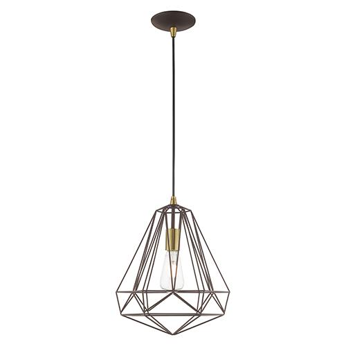 geometric mini pendant light # 9