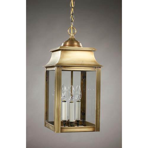 outdoor brass pendant # 7