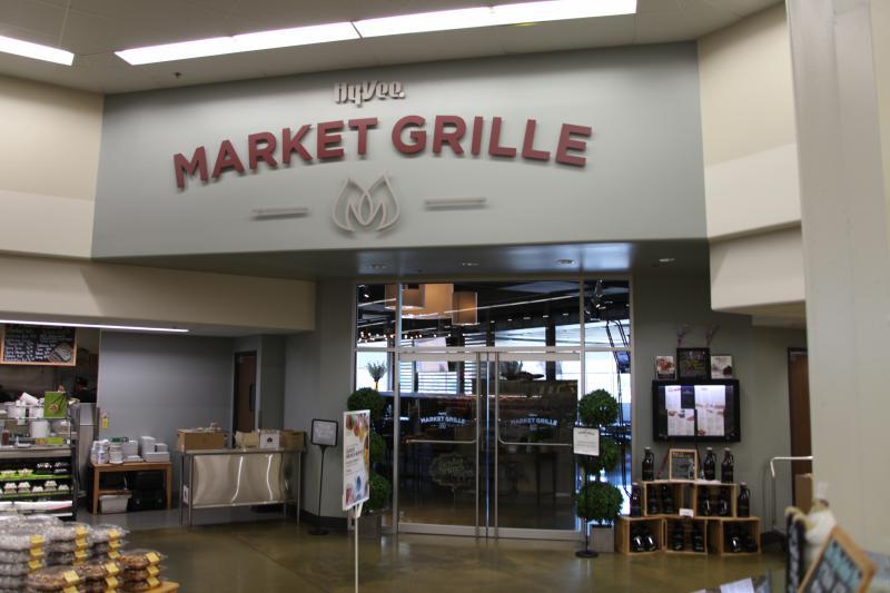 Hy Vee Market Grille Menu