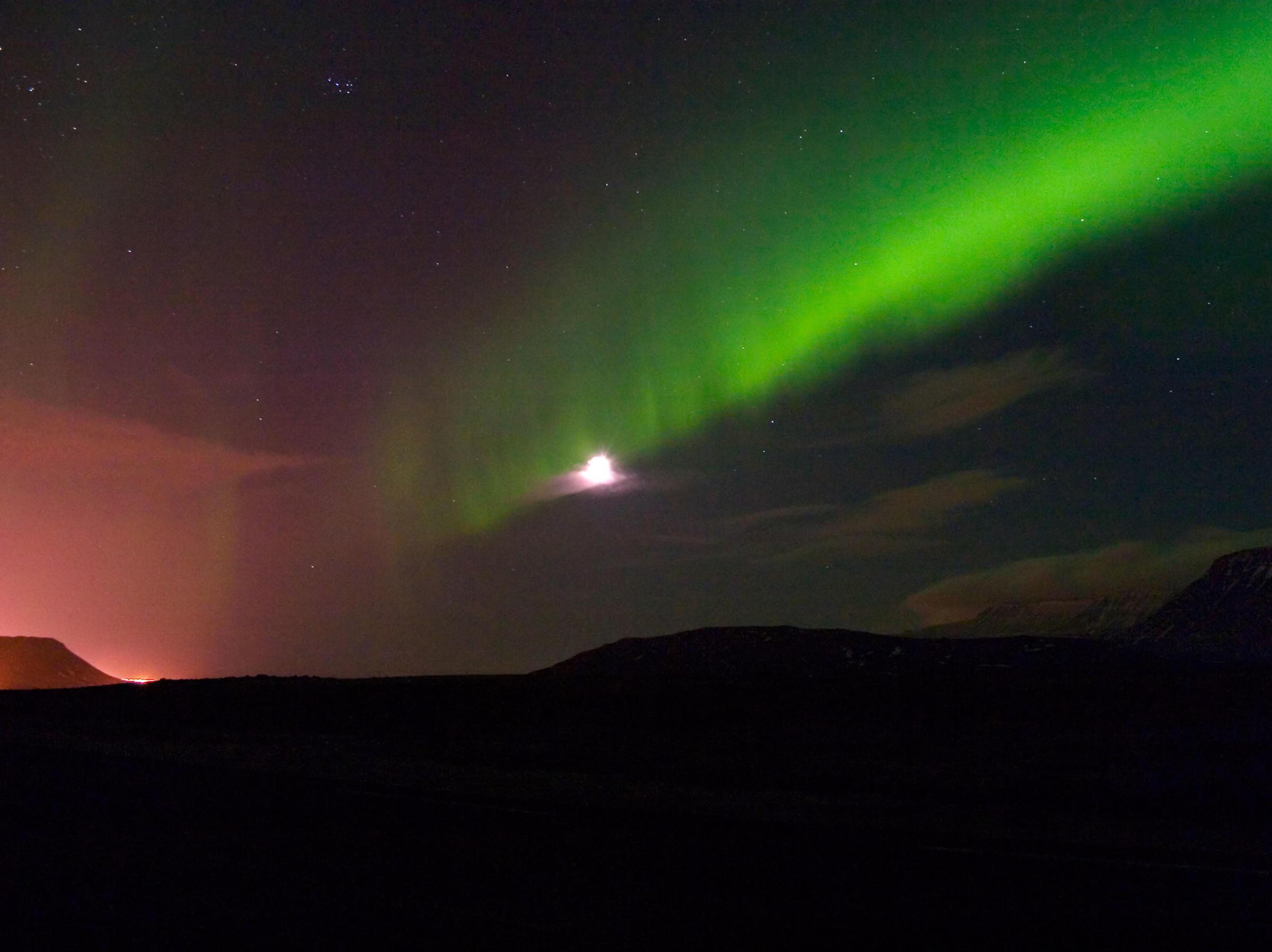 Northern Lights Iceland February