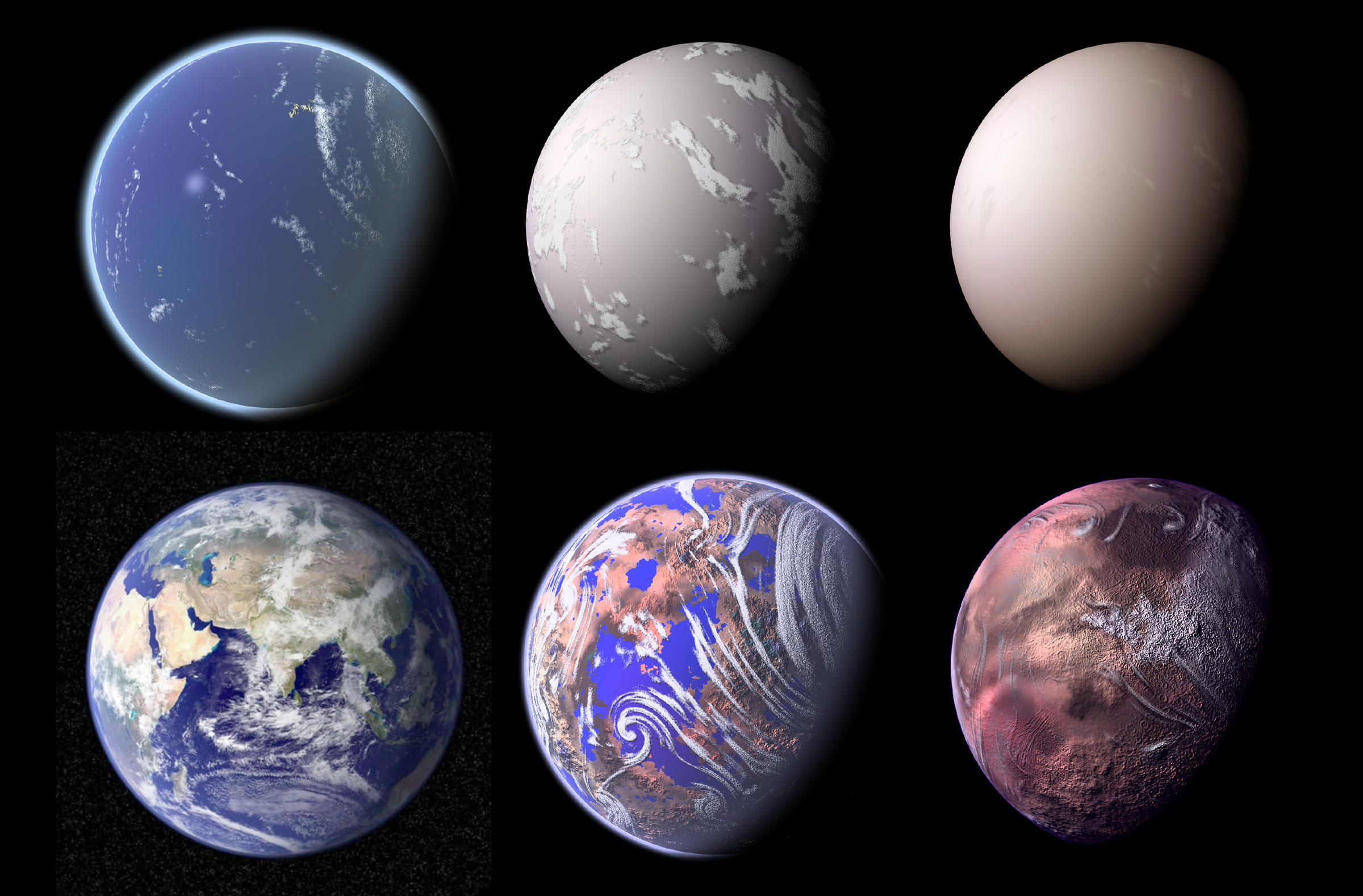 Different Ages Earth