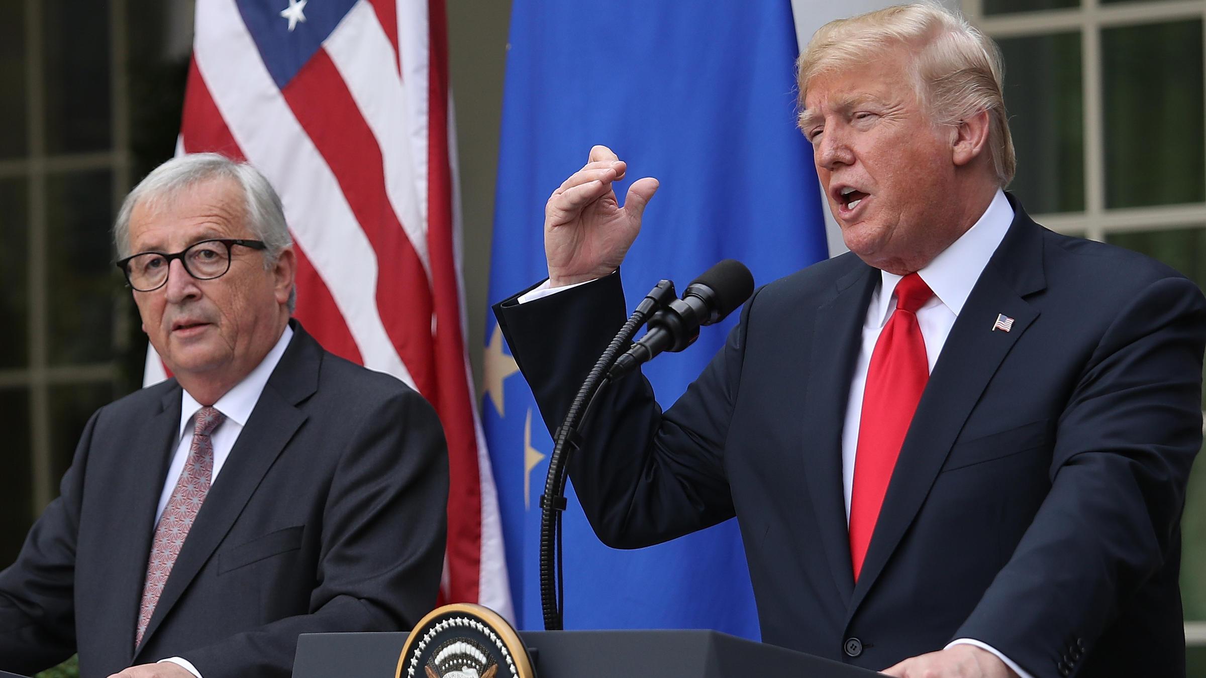 Trump And EU Agree To Work Toward Zero Tariffs ...