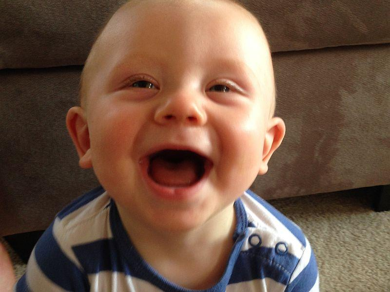 When Do Infants Laugh