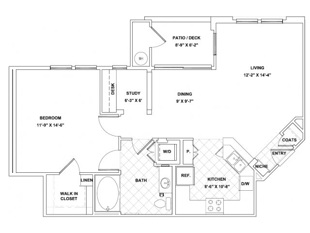 Main Street Village Irvine Floor Plans