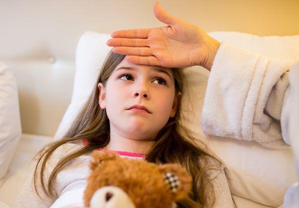 Pneumonia jelei a gyermekben
