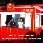 jual container cafe 10 feet di Suwawa WA 0878-8909-0415
