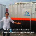 harga container cafe 10 feet di Keerom WA  0878-8909-2614
