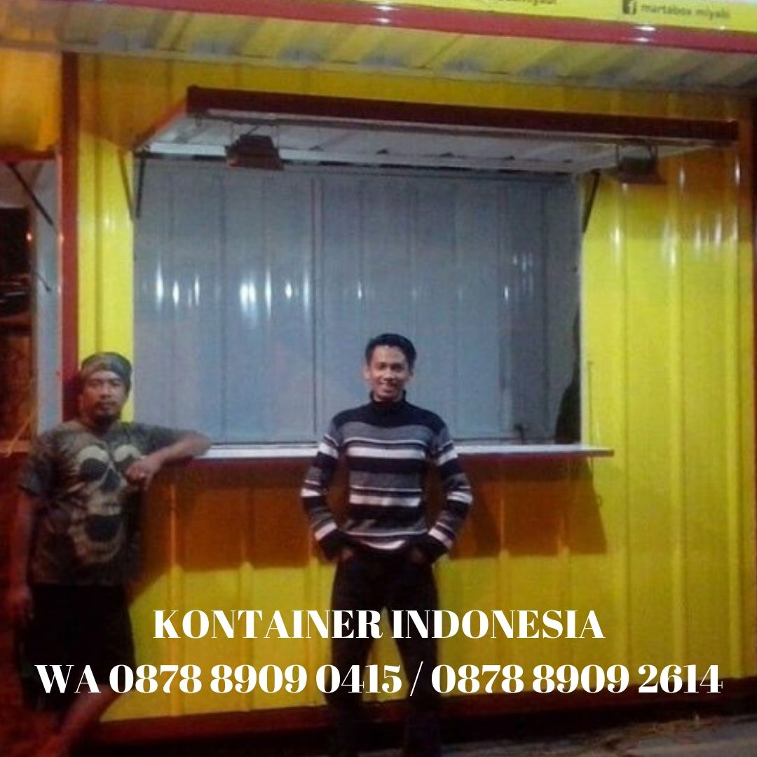 jual booth container di Nusukan, Solo WA 0878-8909-0415