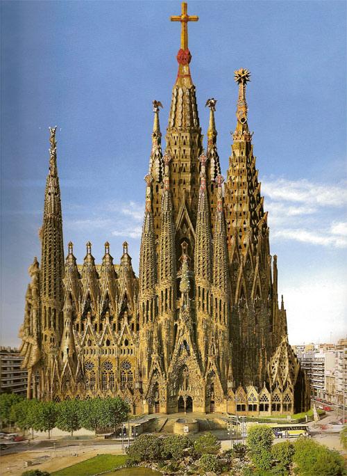 Sagrada Familia Templo Expiatorio De La Sagrada Familia