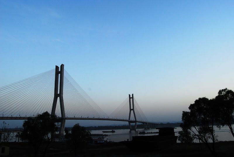 Puente Ehuang Sobre El R 237 O Yangts 233 Megaconstrucciones