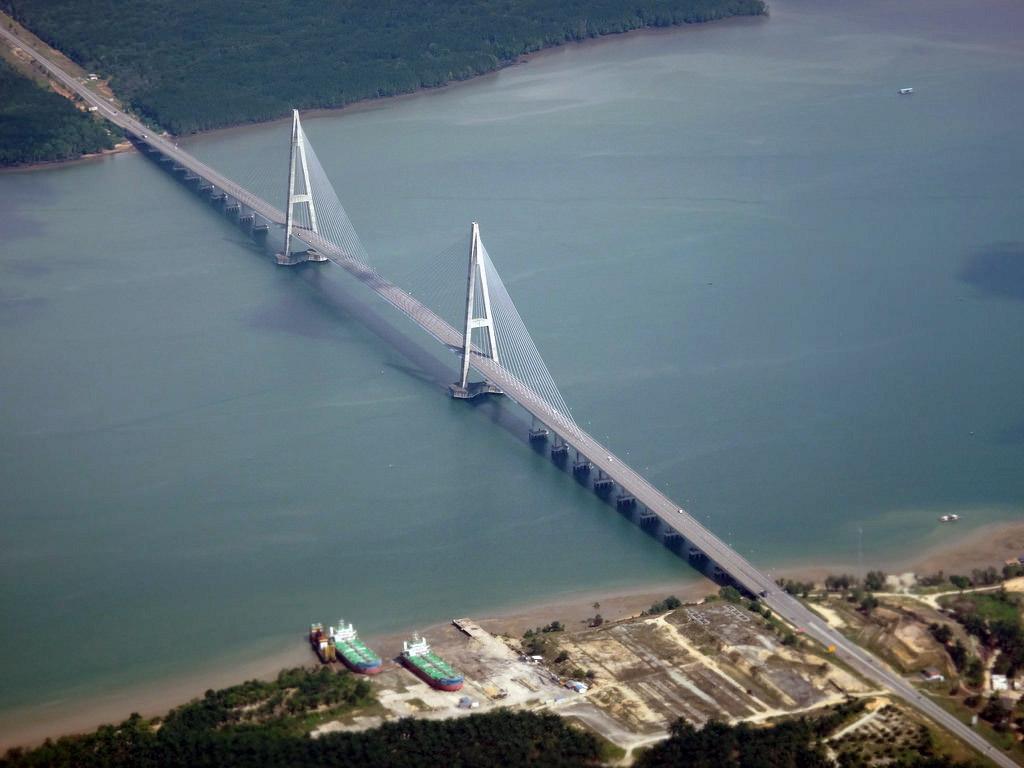 Puente De Sungai Johor Megaconstrucciones Extreme