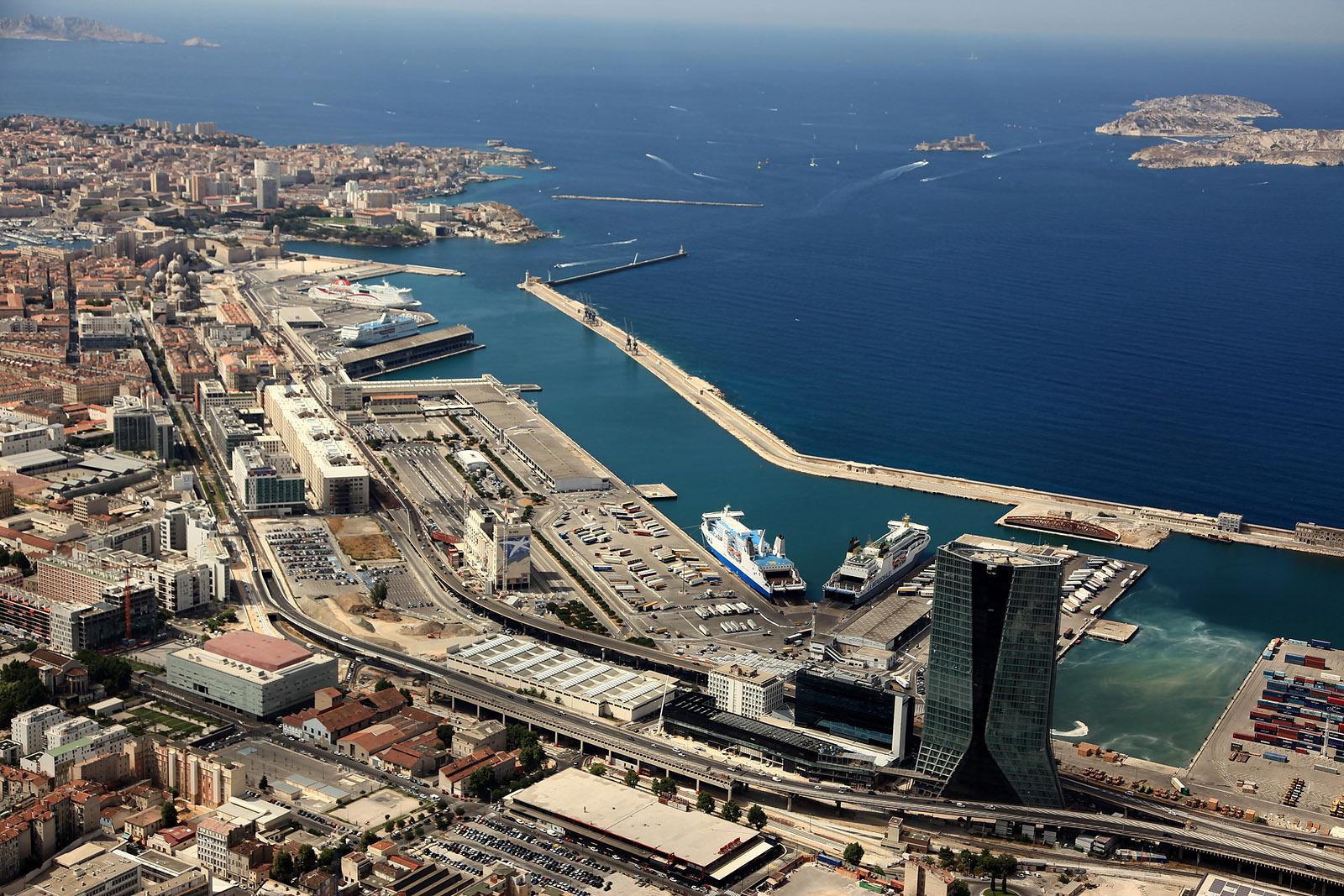 Puerto De Marsella Port De Marseille Fos