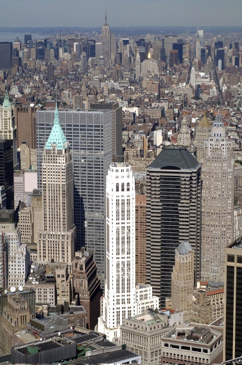 40 Wall Street The Trump Building Megaconstrucciones