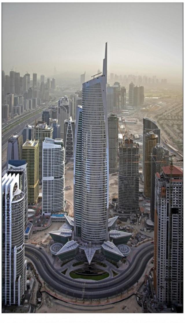 Almas Tower Torre Diamante Megaconstrucciones Extreme