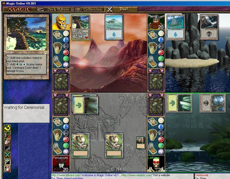 Demos: PC: Magic: The Gathering Online Demo   MegaGames