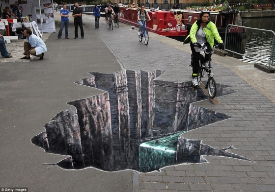 3d Pavement Art Earthquakes