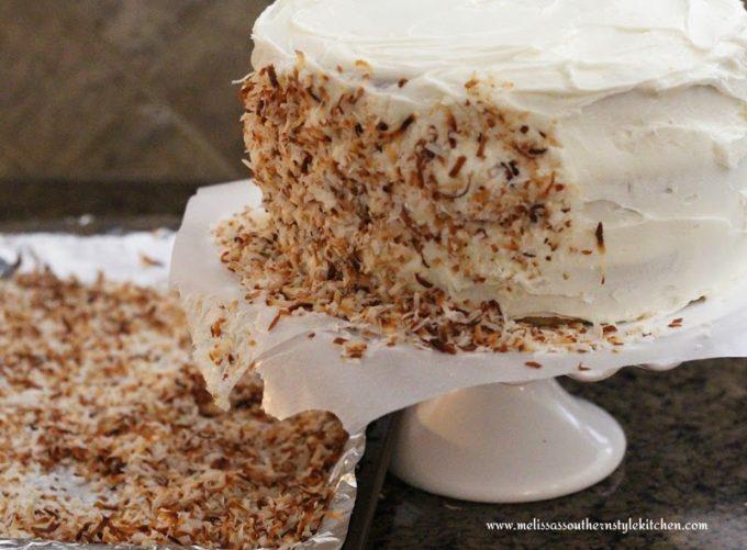 Italian Cream Cake Melissassouthernstylekitchen Com