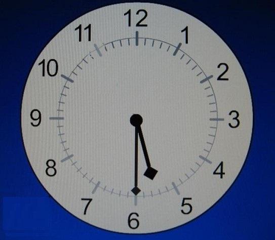Eri minuutti välein kello