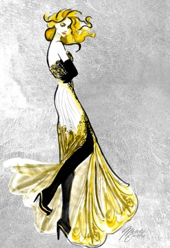 Fashion Illustration Figure Collection   Melody Owens Art Fashion Illustration