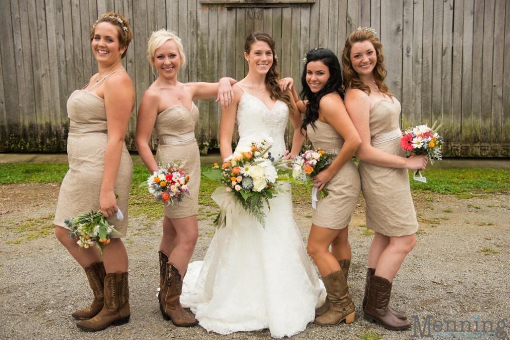 Country Western Wedding Hair