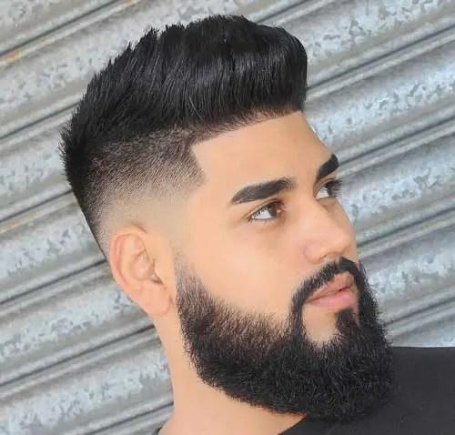Mid Fade Long Hair