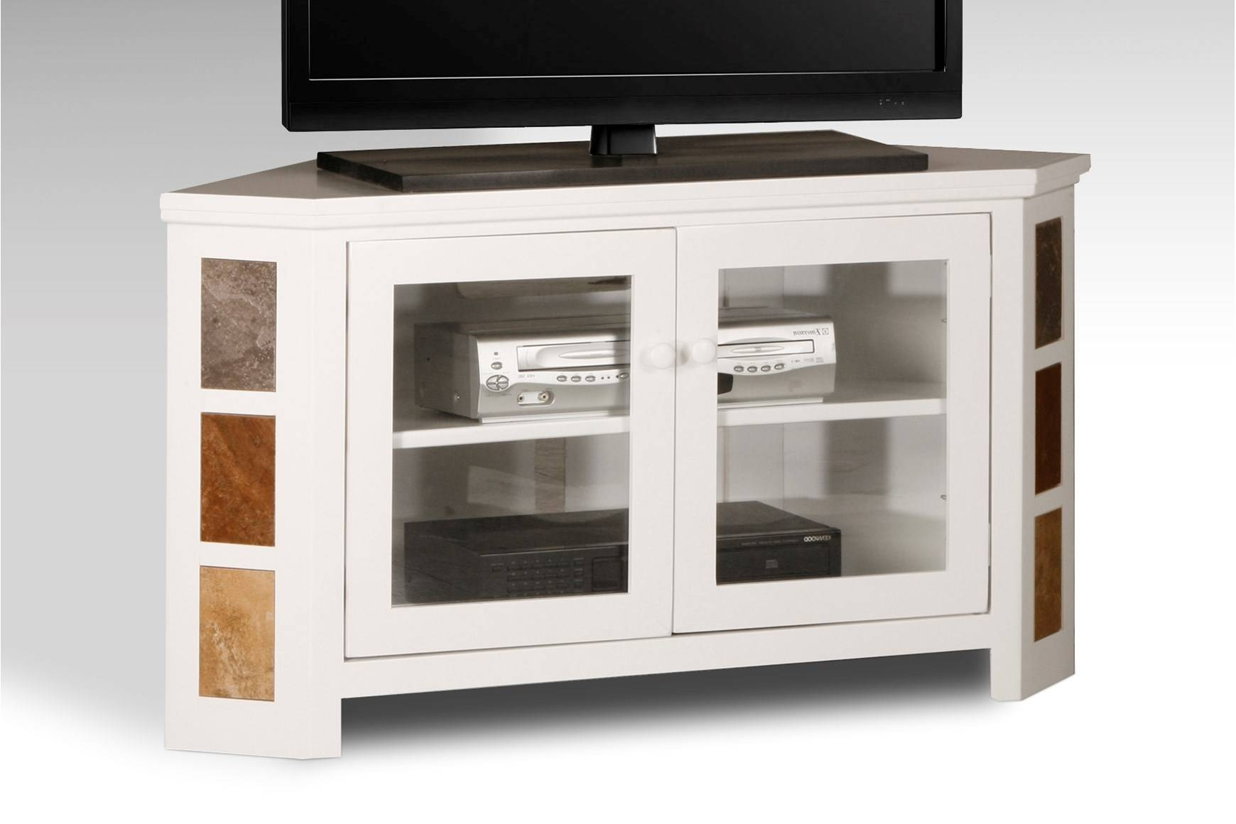 Wooden Tv Stands With Doors On Bottom
