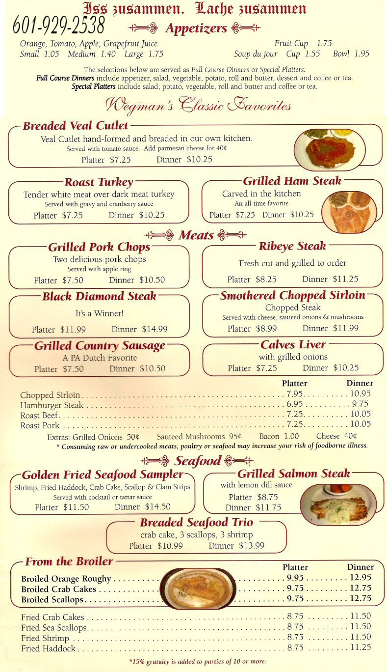 Buffet Near Me Prices