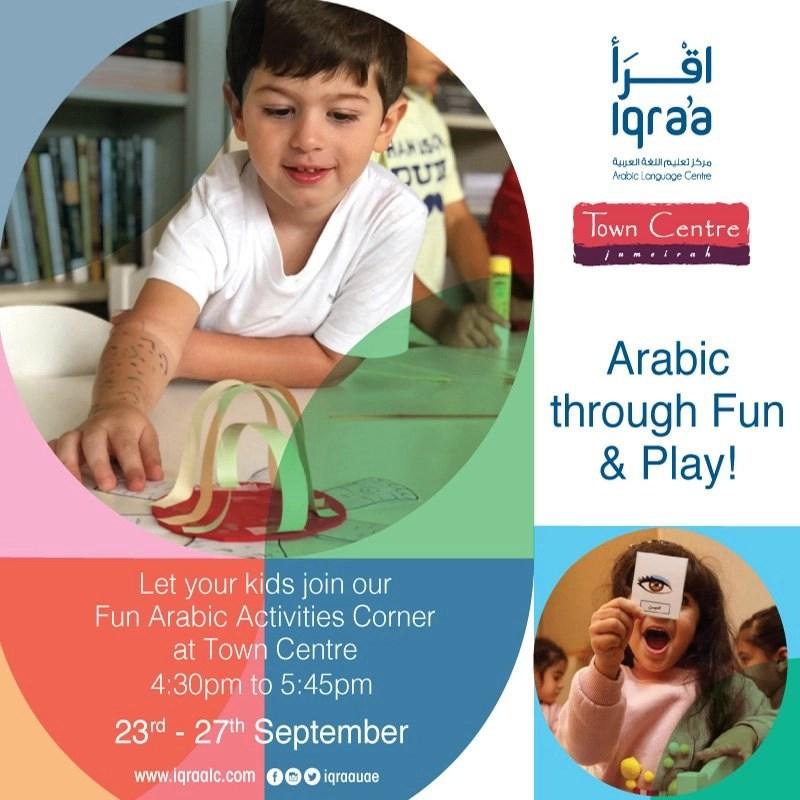 Arabic Through Fun and Play!