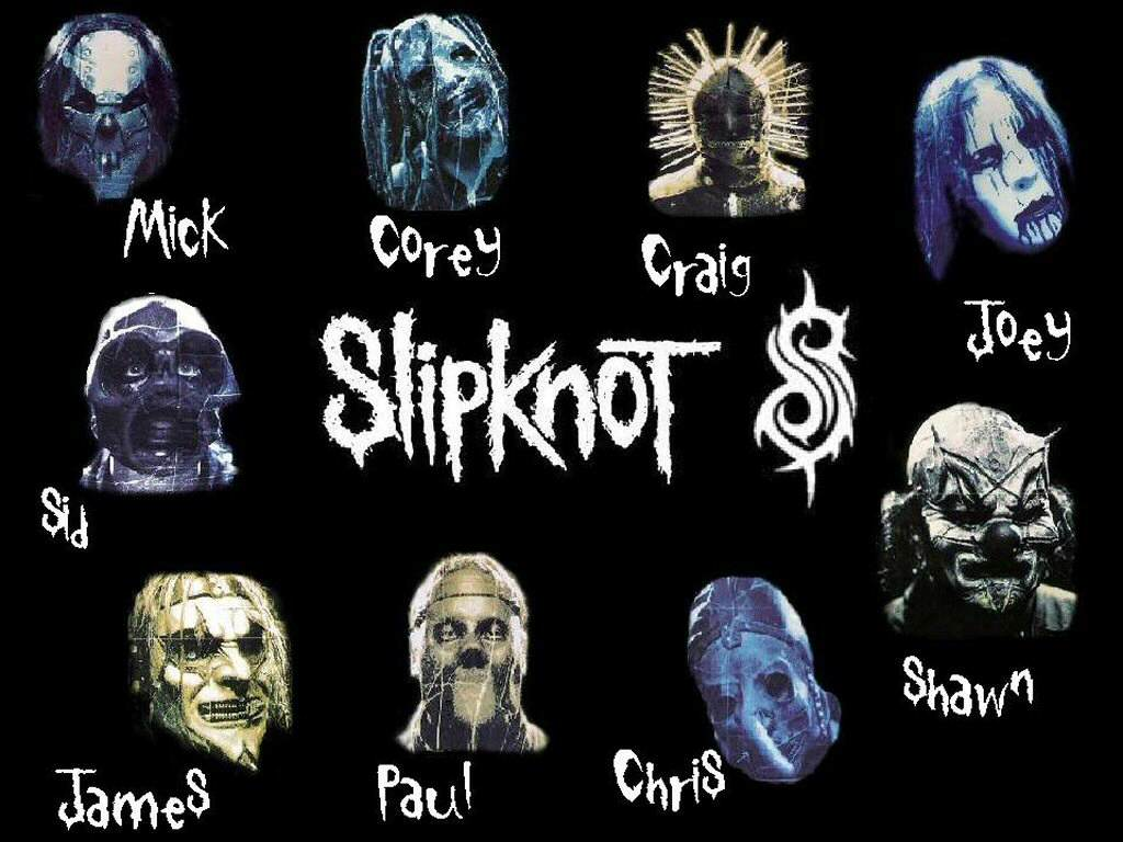 Over Masks Slipknot Years