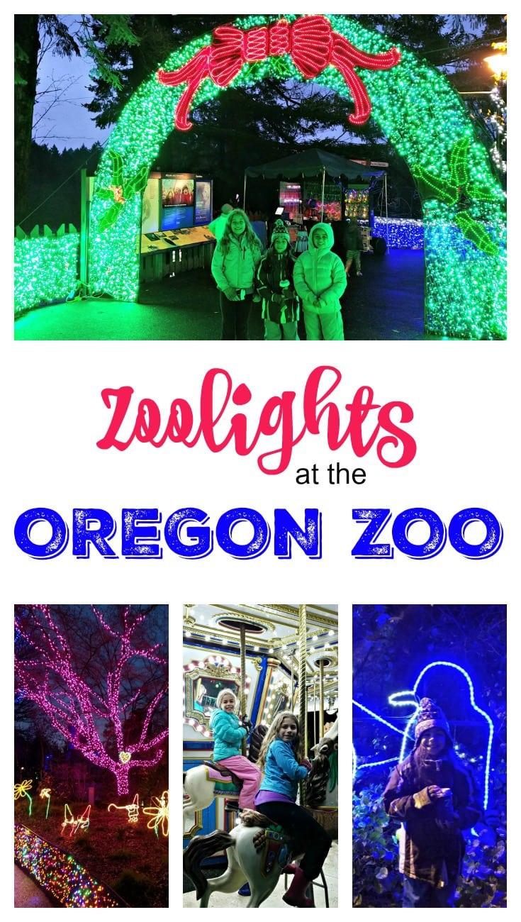 Zoo Lights Portland 2017