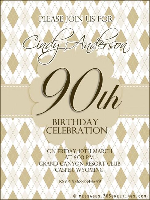Birthday Invitations 24th