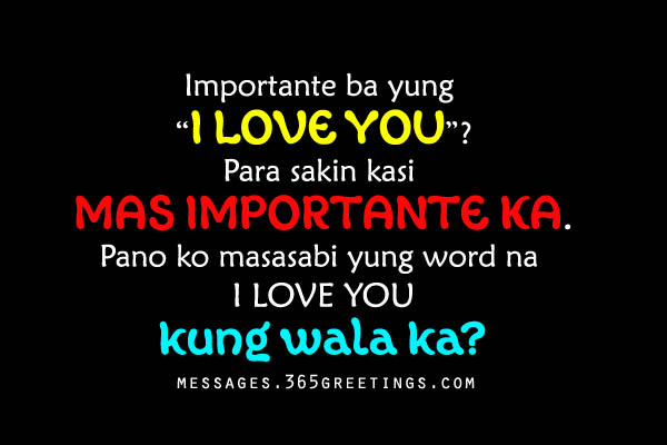 Romantic Love Quotes Her Tagalog