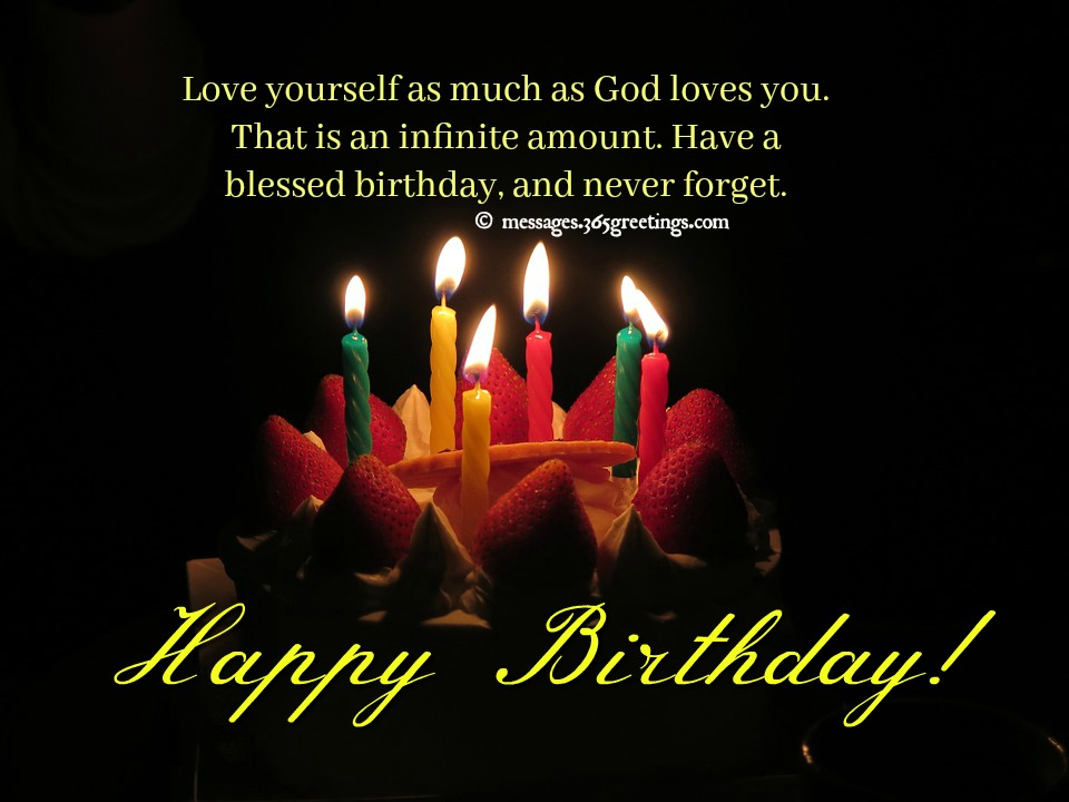 Greetings Birthday Bible Verse Christian