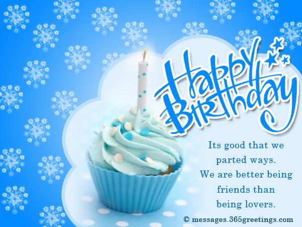 Birthday Wishes Ex Boyfriend