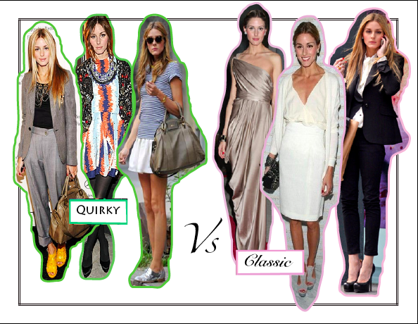 Quirky vs Classic  Fashion Opposites   Messy Nessy Chic Olivia