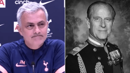 Jose Mourinho Stops Press Conference To Pay Tribute To Prince Philip |  Metro News