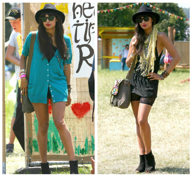 Glastonbury 2010  famous fashion   Metro Chica Did everyone catch Glastonbury on TV over the weekend  If not  where were  you   It was literally on everytime I stuck on BBC  I wasn t complaining  though
