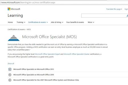References on Resume » microsoft specialist certification ...