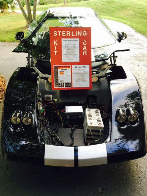 Must See Video All Electric Sterling Sports Car